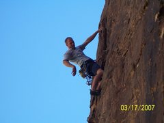 Rock Climbing Photo: Pine Creek, Red Rock NV