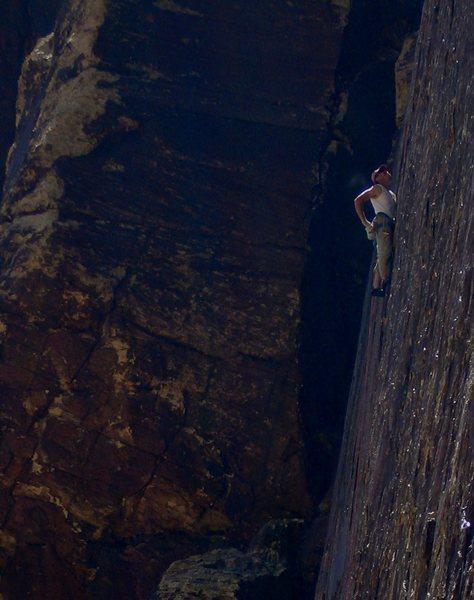 The Manimal, Sand Stone Samari,Black Velvet Canyon, Red Rock, NV