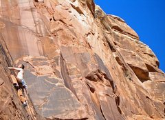 Rock Climbing Photo: James, The Dillion Wall, The Swell,UT