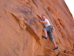 Rock Climbing Photo: Presidigitator, Snow Canyon,UT