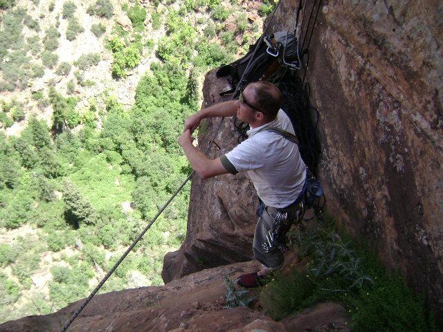 Rock Climbing Photo: Shunes, Zion, UT