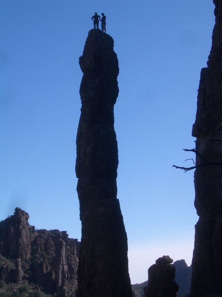 Rock Climbing Photo: Totem Pole