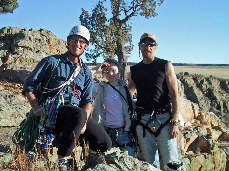 Misty, Jay and Me. Graneros January 2004
