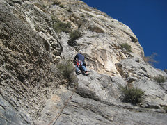 Rock Climbing Photo: Me on pitch 3.