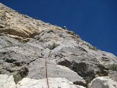 Rock Climbing Photo: Me on pitch 6.