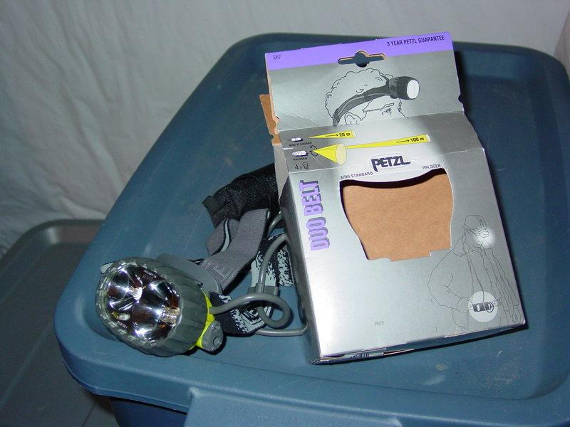 Rock Climbing Photo: headlamp for sale