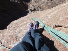 Rock Climbing Photo: checkerboard wall