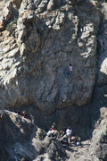 Rock Climbing Photo: Enjoying a lazy April afternoon at the Training Ca...