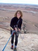 Rock Climbing Photo: McCullough Inglis does her first ever rappel.  Thi...