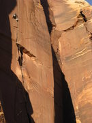 Rock Climbing Photo: Unknown climber.