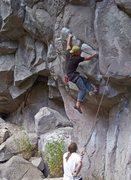 Rock Climbing Photo: Starting 'Gape Index' 5.12b/c