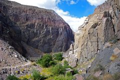 Rock Climbing Photo: North end of the Central Gorge, Solarium on the ri...