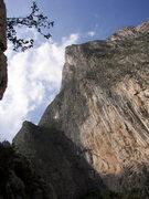 Rock Climbing Photo: Outrage Wall