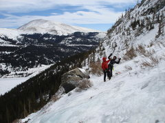 Rock Climbing Photo: Death by ice axe!