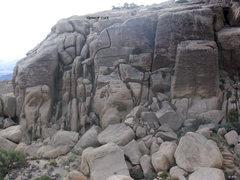 Rock Climbing Photo: Corner N' Crack