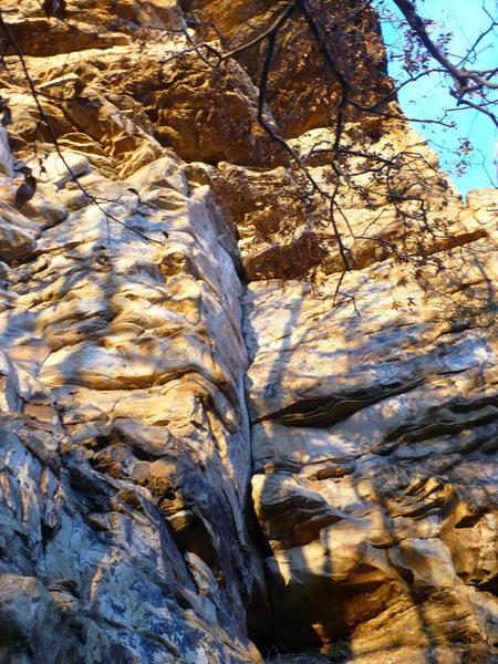 Rock Climbing Photo: Horseman, T-Wall, TN.