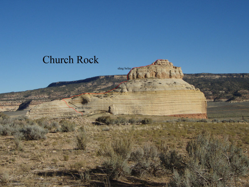 This is the [[105966898]] on Church Rock.