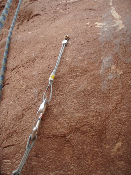 Rock Climbing Photo: Just the kind of placement that stoppers where des...