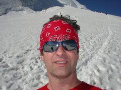 Rock Climbing Photo: Derek in the Alps