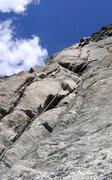 Rock Climbing Photo: Higher up climbing is easier but way fun.