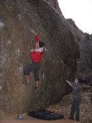 Rock Climbing Photo: Cheyenne Canyon, Graduation Boulder