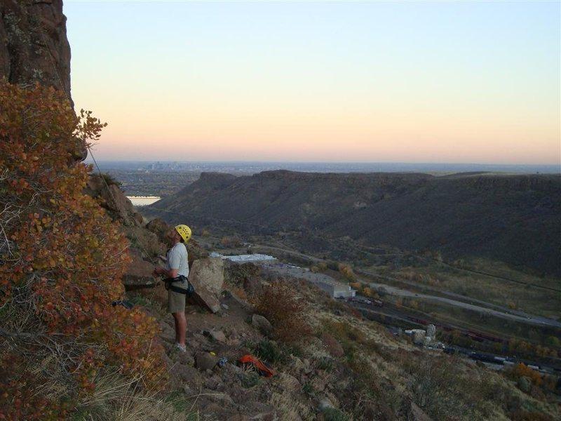 Rock Climbing Photo: Downtown Denver