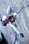 Rock Climbing Photo: Curt Shannon on Vector.  (from Curt 12/08)