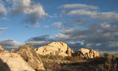 Rock Climbing Photo: A beautiful afternoon at The Towers. Photo by Blit...