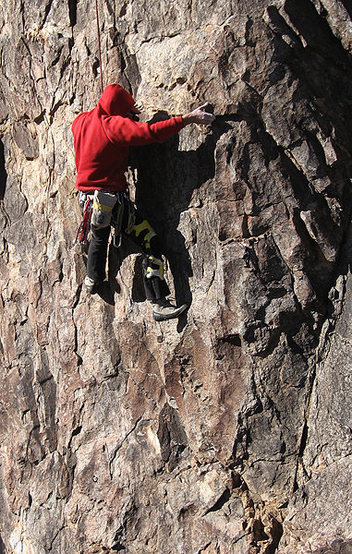 Rock Climbing Photo: The Cosmicragsman on Snow White