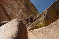 Rock Climbing Photo: John Langston making it look easy.