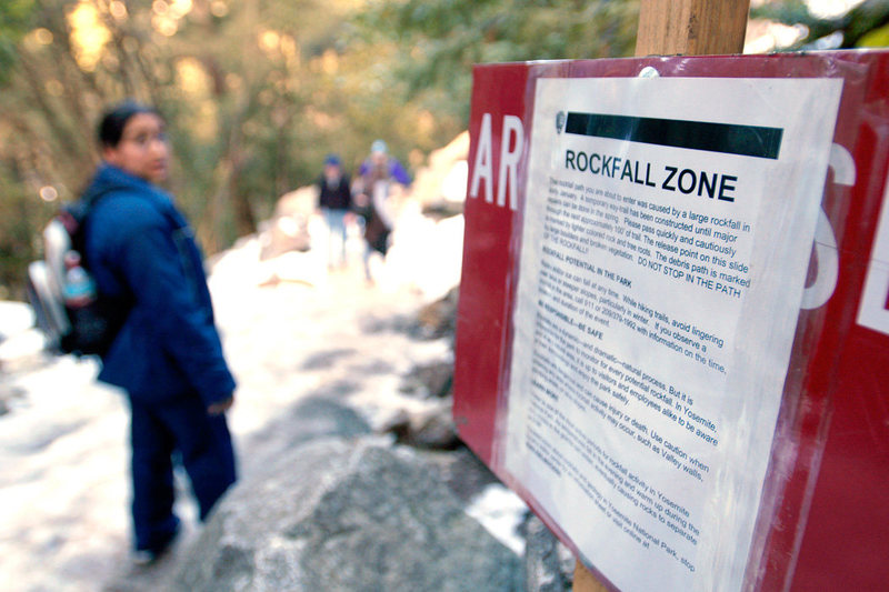 "Rock Climbing Photo: ""Do not stop in the path"""