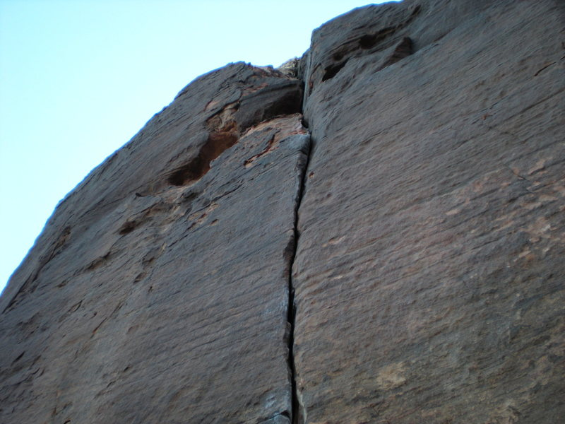 Rock Climbing Photo: start of p-coat