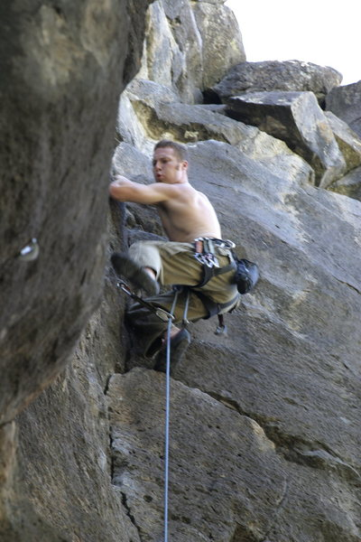 Rock Climbing Photo: Moucha!