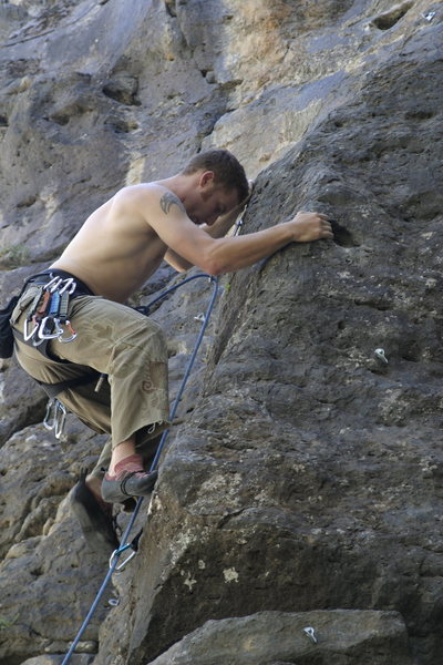 Rock Climbing Photo: back in the day