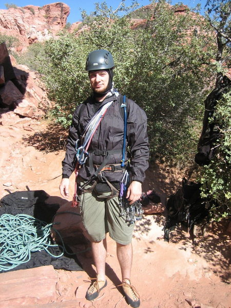Rock Climbing Photo: Ready to lead Physical Graffiti