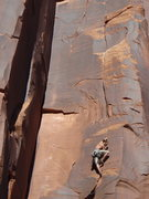 Rock Climbing Photo: the hand crack begins