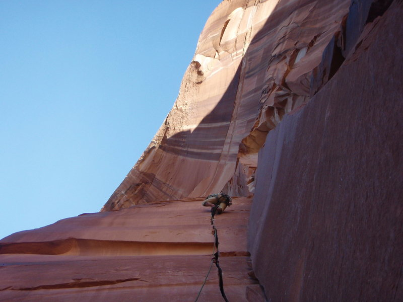 Rock Climbing Photo: and goes all the way to the end