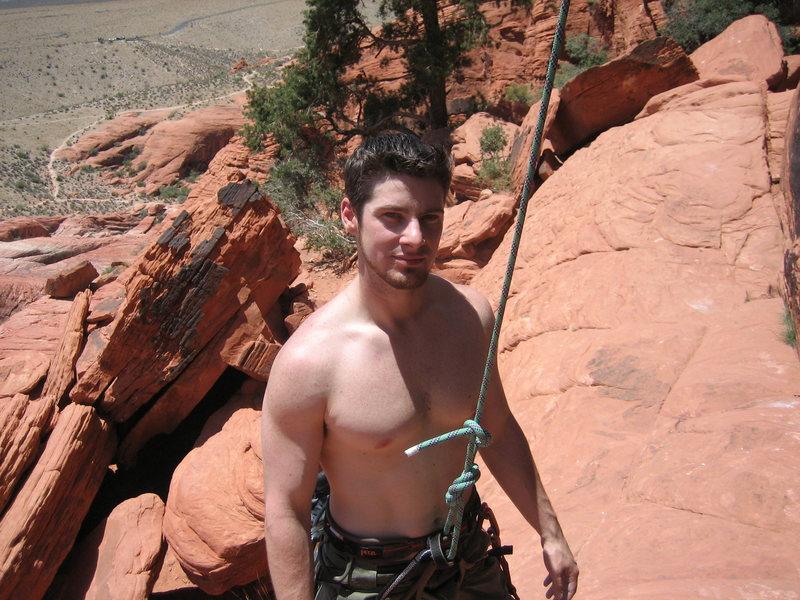 Rock Climbing Photo: More me at panty wall