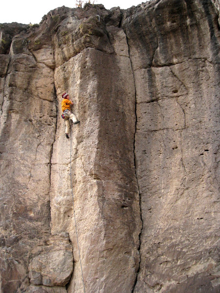 Rock Climbing Photo: I'm pretty sure this was the first time I'd ever s...