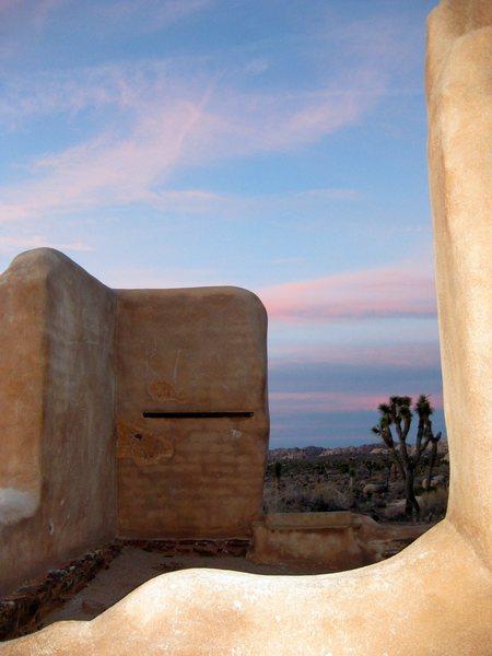 Rock Climbing Photo: Ryan Ranch, Joshua Tree NP.  12/11/08