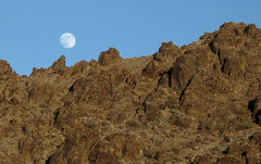 Rock Climbing Photo: Moonrise. Photo by Blitzo.