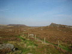 Rock Climbing Photo: Owler Tor (right) from Millstone
