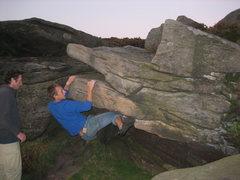 Rock Climbing Photo: Cruising The Roof