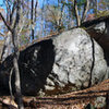 Boulder 3 with boulder 3A behind it.