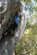 Rock Climbing Photo: Cresent Crack