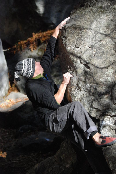 Rock Climbing Photo: Something easy