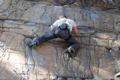 Rock Climbing Photo: Devil in the White House