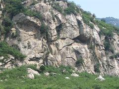 Rock Climbing Photo: across the river