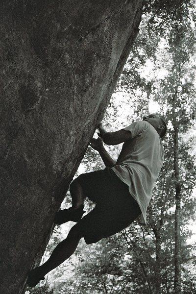 Rock Climbing Photo: Boone