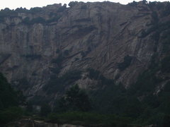 Rock Climbing Photo: A completely unclimbed wall 100m down the road fro...